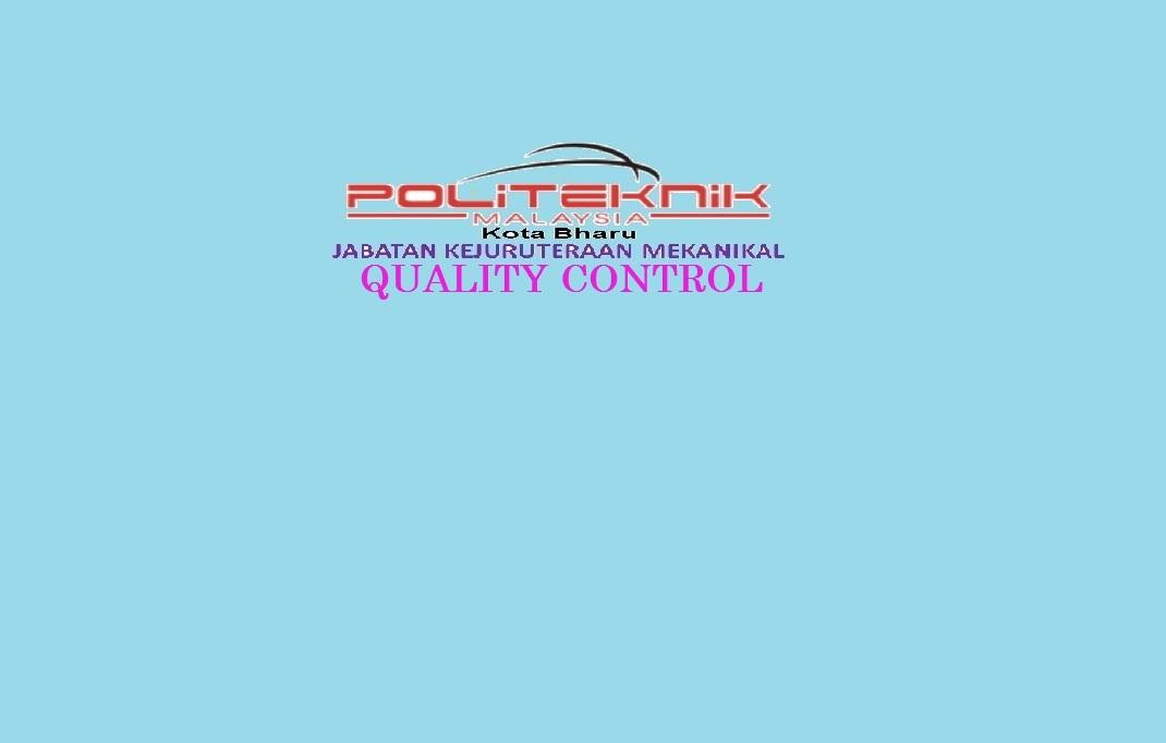 DJF6102 QUALITY CONTROL