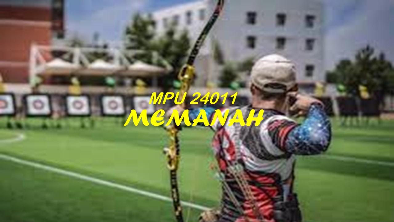 MPU24011 MEMANAH